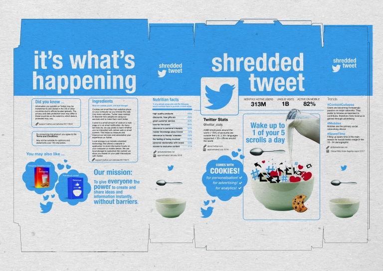Shredded Tweet (Net)