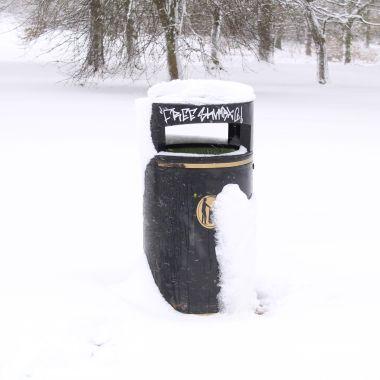 Bin snowing